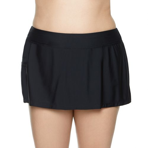 SE Rose Co. Women's Malibu Solid Plus-Size Shortini