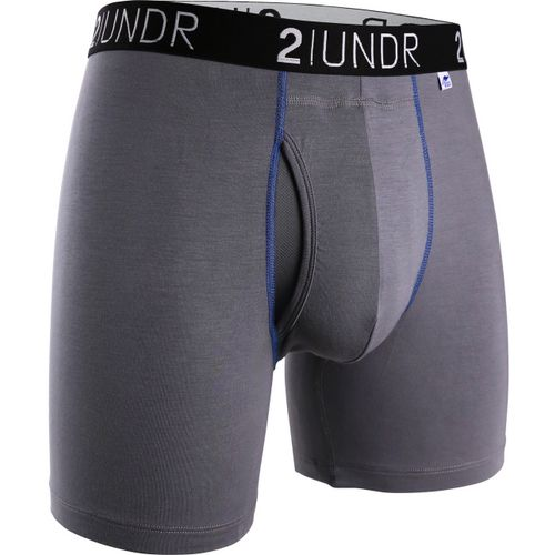 2UNDR Men's Swing Shift 6 in Dog Tooth Boxer Briefs 2-Pack - view number 1