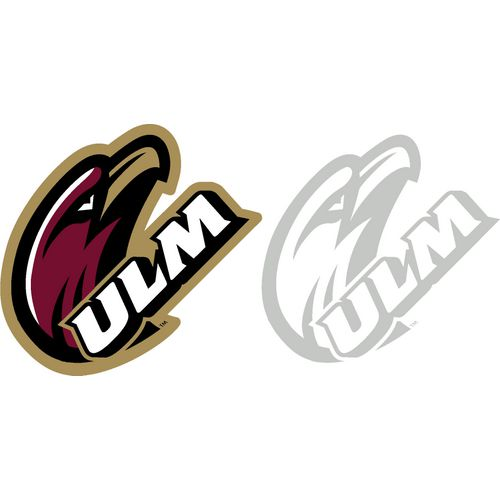 Stockdale University of Louisiana at Monroe 4' X 7' Logo Decals 2-Pack