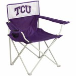 Logo Chair TCU Canvas Tailgate Chair