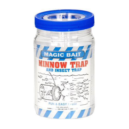 Display product reviews for Magic Bait 32 oz. Minnow Trap and Insect Trap