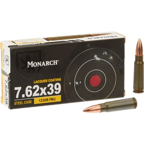 Monarch® Full Metal Jacket 7.62 x 39 mm 123-Grain Rifle Ammunition - view number 1