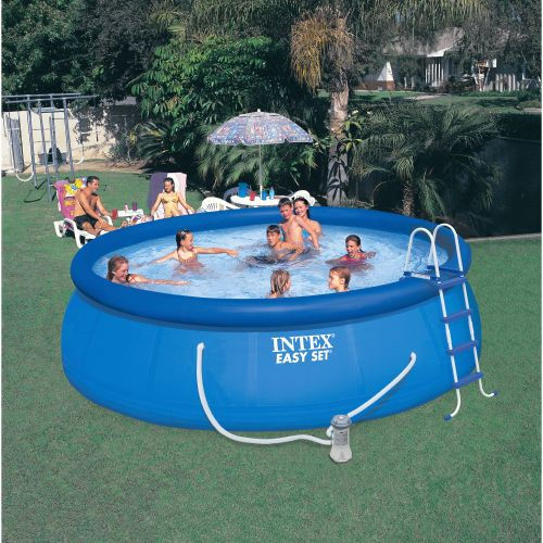 "INTEX® 15' x 48"" Round Pool"