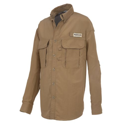 Magellan Outdoors™ Boys' Laguna Madre Long Sleeve Fishing Shirt