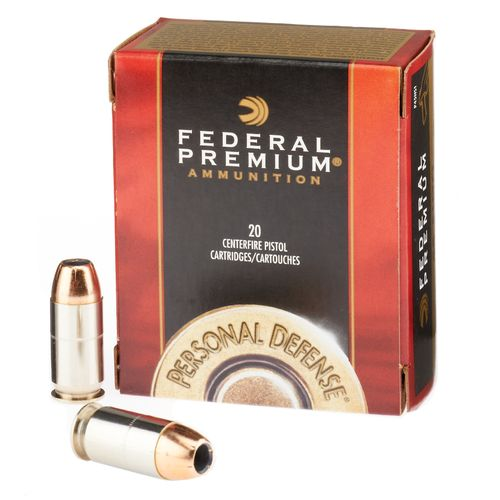 Federal Premium® Personal Defense® Hydra-Shok® JHP .45 Auto 230-Grain Handgun Ammunit - view number 1