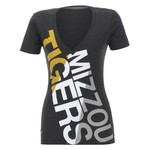 Nike Women's University of Missouri Deep V Blended T-shirt