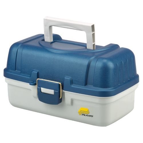 South Bend Ready 2 Fish 136-Piece 2-Tray Tackle Box