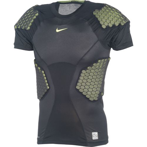 Nike Men's Pro Combat Hyperstrong 4-Pad Football Top