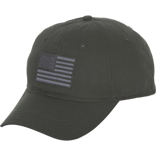 Academy Sports + Outdoors Men's Tonal American Flag Solid Twill Hat