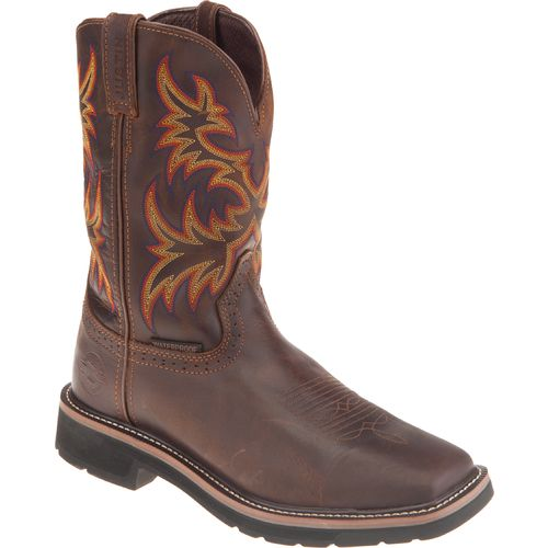 Justin Men's Rugged Cowhide Waterproof Western Boots - view number 2