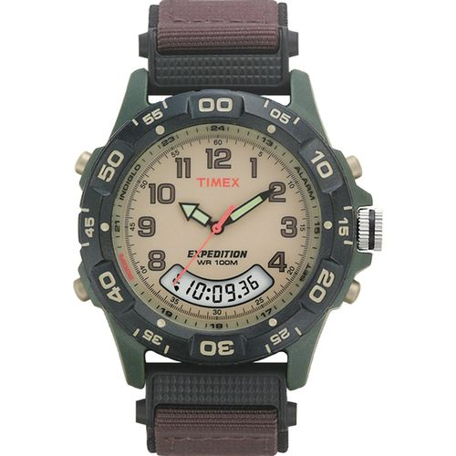 Image for Timex Men's Expedition Chronograph Analog/Digital Watch from Academy