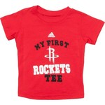 adidas Toddlers' Houston Rockets My New First T-shirt