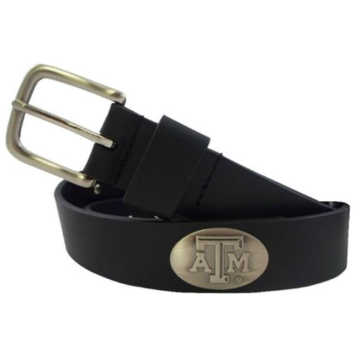 CLC Men's Texas A&M University Smooth Concho Belt