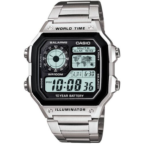 Casio Men's Classic Stainless Steel Analog/Digital Watch