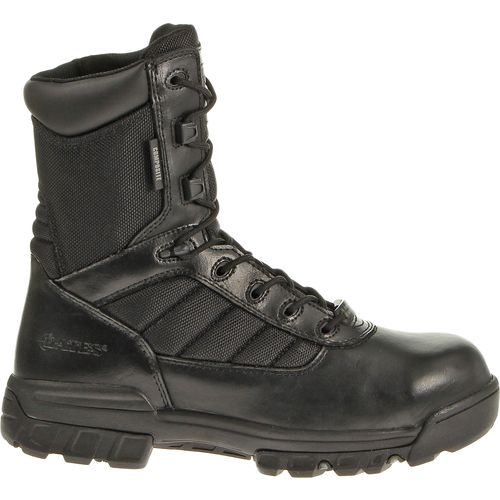 "Bates Men's 8"" Ultra Lites Composite-Toe Side-Zip Boots"
