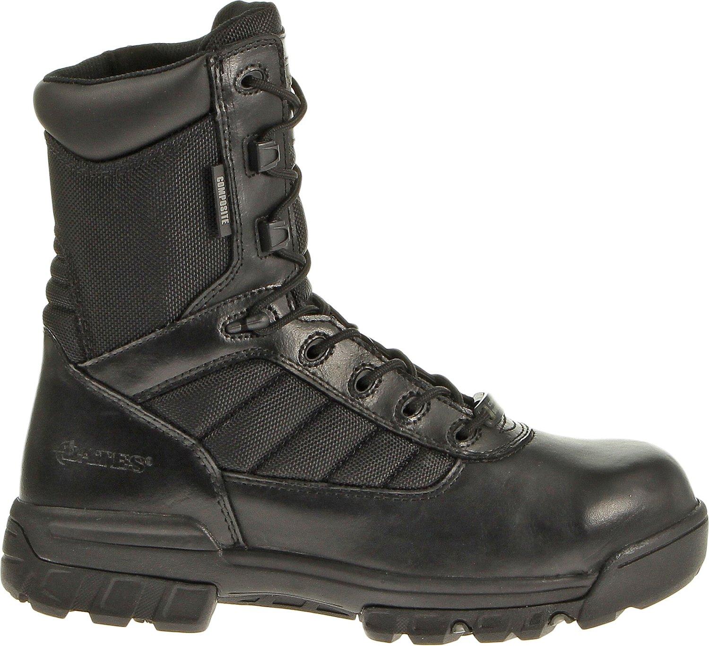 Bates Men's GX-8 Desert Composite-Toe Side-Zip Boots