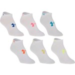 Under Armour™ Adults' Liner No-Show Socks 6-Pair
