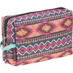 A. D. Sutton Women's Quilted Cotton Cosmetic Case