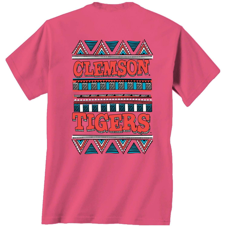 New World Graphics Women 39 S Clemson University Short Sleeve