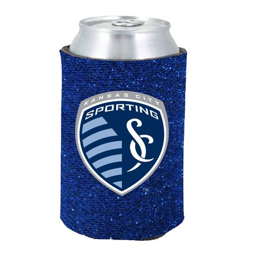 Kolder Sporting Kansas City 12 oz. Glitter Can Coolie