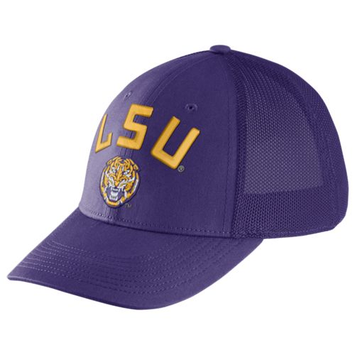 Nike Men's Louisiana State University Dri-FIT Legacy91 Mesh Back Swoosh Flex Cap