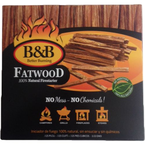 bu0026b natural fatwood fire starters view number 1 - Fatwood