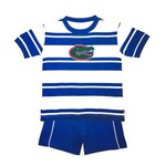 Two Feet Ahead Toddlers' University of Florida Rugby Short Set