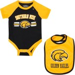 Colosseum Athletics Infants' University of Southern Mississippi Dribble Onesie and Bib Set