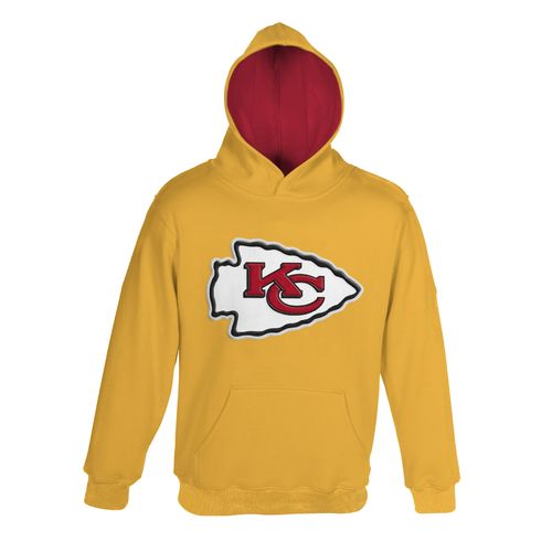 NFL Boys' Kansas City Chiefs Primary Pullover Hoodie
