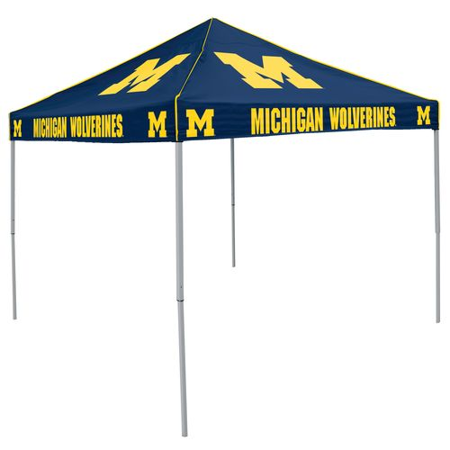 Logo University of Michigan Straight-Leg 9 ft x 9 ft Color Tent