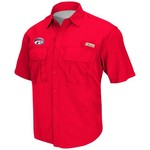 Colosseum Athletics Men's University of Houston Swivel Fishing Shirt