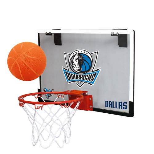 Rawlings Dallas Mavericks Game On Polycarbonate Hoop Set