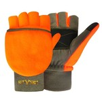 Hot Shot® Adults' Bull's-Eye Pop-Top Mittens