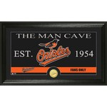 The Highland Mint Baltimore Orioles Man Cave Bronze Coin Photo Mint