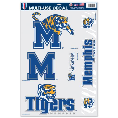 WinCraft University of Memphis Multiuse Decals 5-Pack