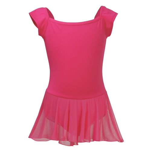 Capezio Girls' Future Star Polyester Cap Sleeve Skirted Leotard