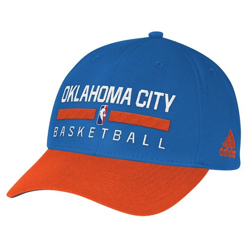 adidas™ Men's Oklahoma City Thunder Structured Adjustable Practice Cap