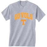 New World Graphics Men's University of Tennessee Medium Logo T-shirt