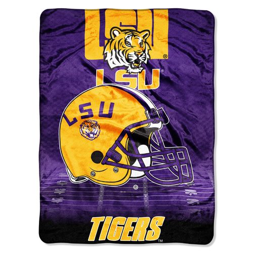 The Northwest Company Louisiana State University Overtime Micro Raschel Throw