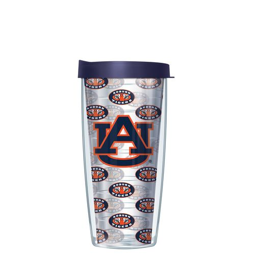 Signature Tumblers Auburn University 16 oz. Repeated Pattern