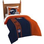 The Northwest Company Denver Broncos Twin Comforter and Sham Set