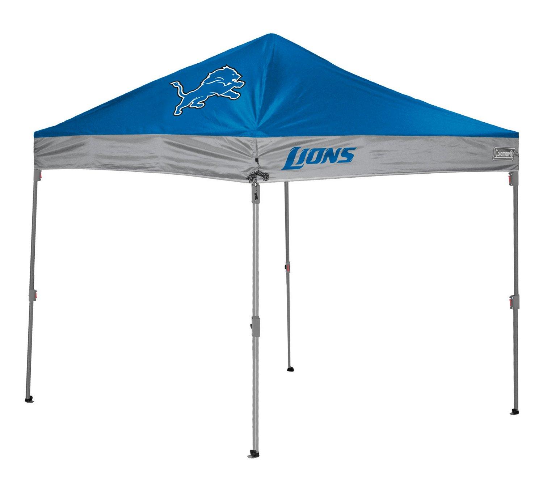 Coleman® Detroit Lions 10' x 10' Straight-Leg Canopy