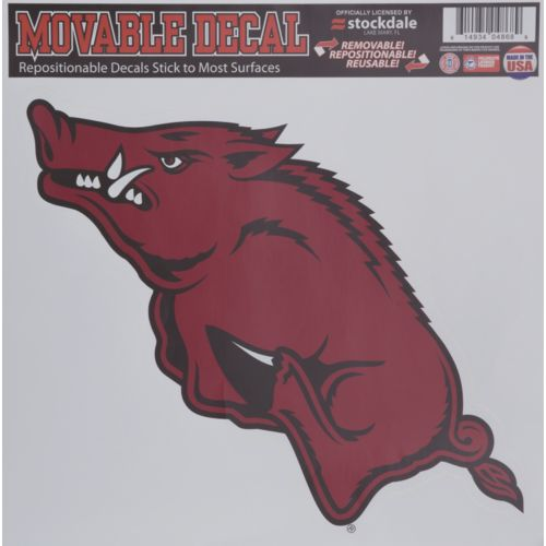 Stockdale University of Arkansas Single Logo Decal