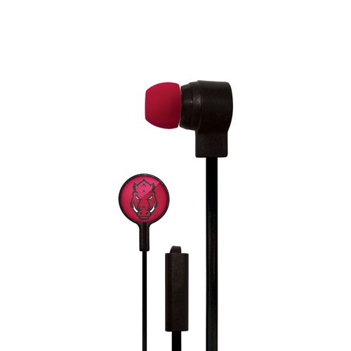 Mizco University of Arkansas Big Logo Earbuds