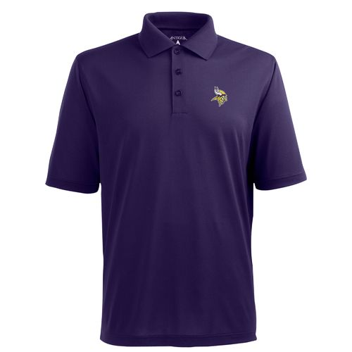 Antigua Men's Minnesota Vikings Piqué Xtra-Lite Polo Shirt
