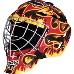 Franklin Boys' Calgary Flames GFM 1500 Goalie Face Mask - view number 1