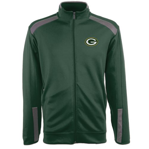 Antigua Men's Green Bay Packers Flight Jacket - view number 1