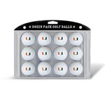 Team Golf University of Miami Golf Balls 12-Pack - view number 1