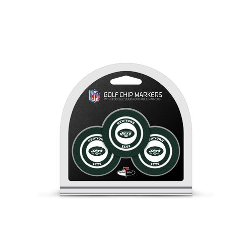 Team Golf New York Jets Poker Chip and Marker Set