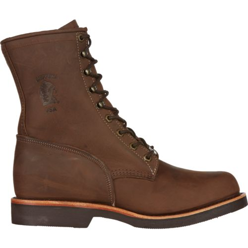 Display product reviews for Chippewa Boots Men's Apache Classic Lace-Up Rugged Outdoor Boots